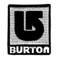 Parche bordado BURTON 5cm x 5.5cm