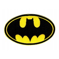 Parche bordado BATMAN 9,5cm x 5.7cm