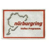 Parche textil CIRCUITO NÜRBURGRING 9 cm x 6 cm
