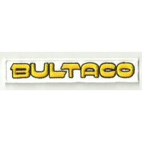 Patch embroidery BULTACO 120mm