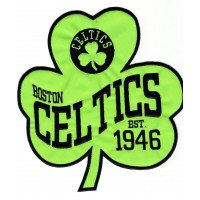 Patch embroidery BOSTON CELTICS 20,5cm x 22cm