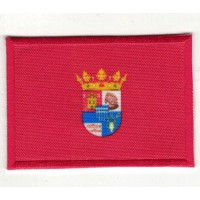 Parche textil y bordado BANDERA SEGOVIA 7CM x 5CM