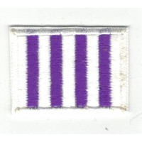 Embroidered Patch FLAG REAL VALLADOLID 4cm x 3cm