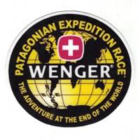 Parche textil PATAGONIAN EXPEDITION RACE 8cm