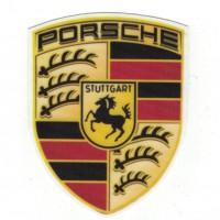 Textile patch PORSCHE 7cm X 9cm