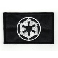 Embroidered GALACTIC EMPIRE FLAG 8cm x 5cm