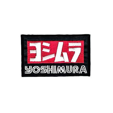 Parche bordado YOSHIMURA 10cm x 6cm