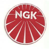 Parche bordado NGK 7,5cm x 7,5cm