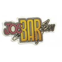Textile patch JOE BAR TEAM 9CM X 4,5CM