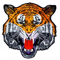 Embroidered patch TIGER DE BENGALA 24CM