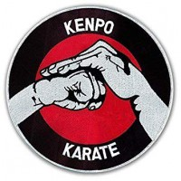 Patch embroidery KENPO KARATE 8cm