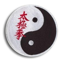 Patch embroidery TAEKWONDO 8cm