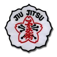 Patch embroidery JIU JITSU 8cm