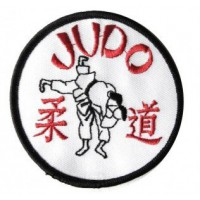 Patch embroidery JUDO 8cm