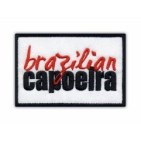 Embroidery patch CAPOEIRA BRAZILIAN 9cm x 4cm