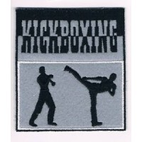 Patch embroidery KINK BOXING 8cm x 5cm