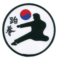 Patch embroidery TAEKWONDO 20cm