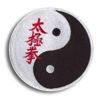 Parche bordado Tai Chi Chuan 20cm