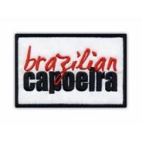 Parche bordado CAPOEIRA BRAZILIAN 18cm x 8cm