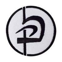 Patch embroidery KARATE LETER 8cm