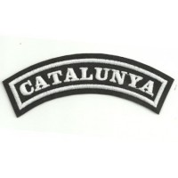 Embroidered Patch CATALUNYA 11cm x 4cm