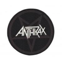 Parche textil ANTHKAX 8,5cm
