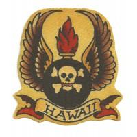 Parche textil HAWAII 9,5cm x 10cm