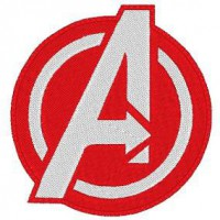 Patch embroidery AVENGERS 8cm