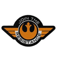 Patch embroidery STAR WARS RESISTANCE 9cm x 4cm