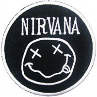 Embroidery patch NIRVANA 18cm