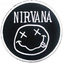Embroidery patch NIRVANA 8cm