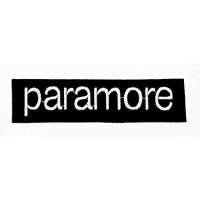 embroidery patch PARAMORE 20cm x 5cm