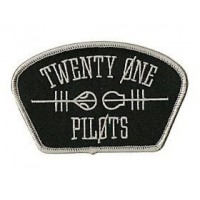 embroidery patch PARAMORE 10cm x 2cm