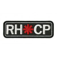 Embroidery patch RED HOT CHILI PEPPERS 20cm x 4cm