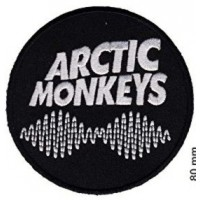 Embroidery patch ARTIC MONKEYS 8cm
