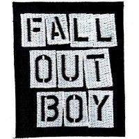 Embroidery patch FALL OUT BOY 6cm x 9cm