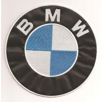Parche bordado BMW GRANDE 175mm diam.