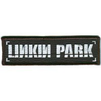 Embroidery patch LINKIN PARK 9cm X 2,5cm
