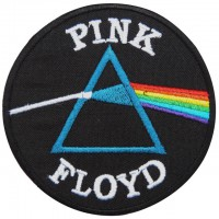 Embroidery patch PINK FLOYD 8cm