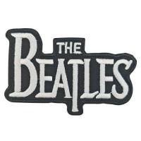 Parche bordado The Beatles B/N 8cm x 5cm