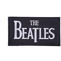 Embroidery patch The Beatles B/N 8cm x 5cm
