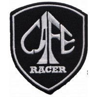 Embroidery patch CAFE RACER ESCUDO 6cm x 7,5cm