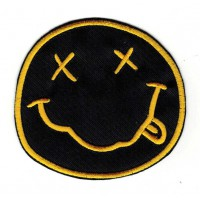 Embroidery patch NIRVANA LOGO 8cm