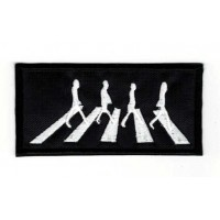 Embroidery patch THE BEATLES 9cm x 4,5cm