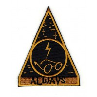 Embroidery patch Harry Potter ALWAYS 7cm x 9cm
