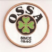 Parche bordado OSSA 7cm