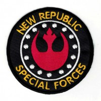 Embroidery patch STAR WARS NEW REPUBLIC 8cm