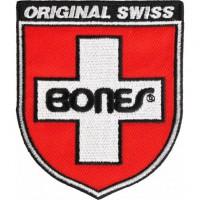 Parche bordado BONES SWISS 7,5cm x 5cm