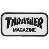 Embroidery Patch THRASHER BLACK 8cm x 3,5cm