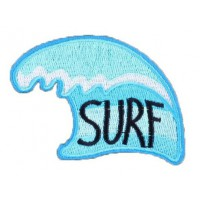 Embroidery Patch WAVE SURF 7cm x 6,5cm